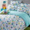 Pretty White And Blue Floral Cotton Bedding Set 1 100x100 - Pretty White And Blue Floral Cotton  Bedding Set