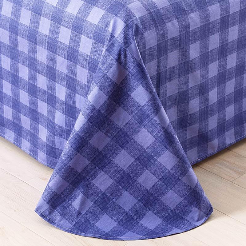 Refreshing Royal Blue And Pink Cotton Bedding Set ...
