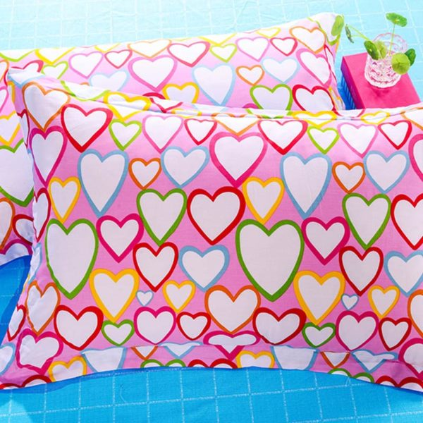 Romantic Hearts Cotton Bedding Set 2