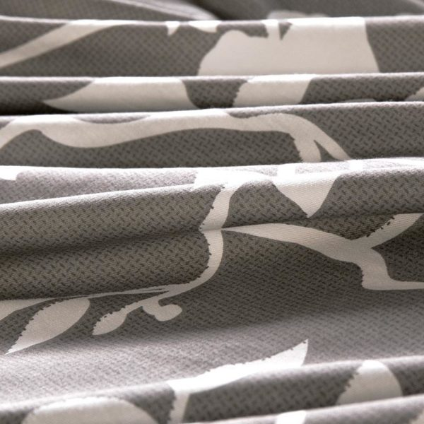 Soothing Steel Grey Cotton Bedding Set 5 600x600 - Soothing Steel Grey Cotton Bedding Set