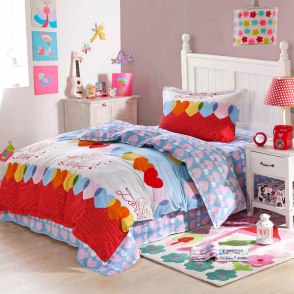 Sophisticated Love Cotton Bedding Set 1