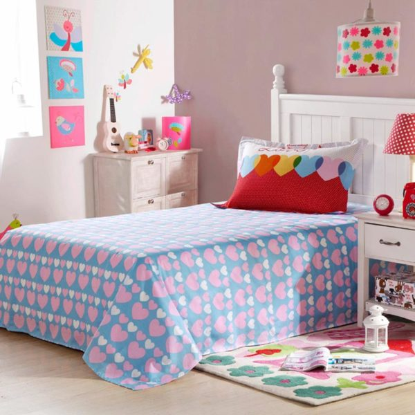 Sophisticated Love Cotton Bedding Set 5