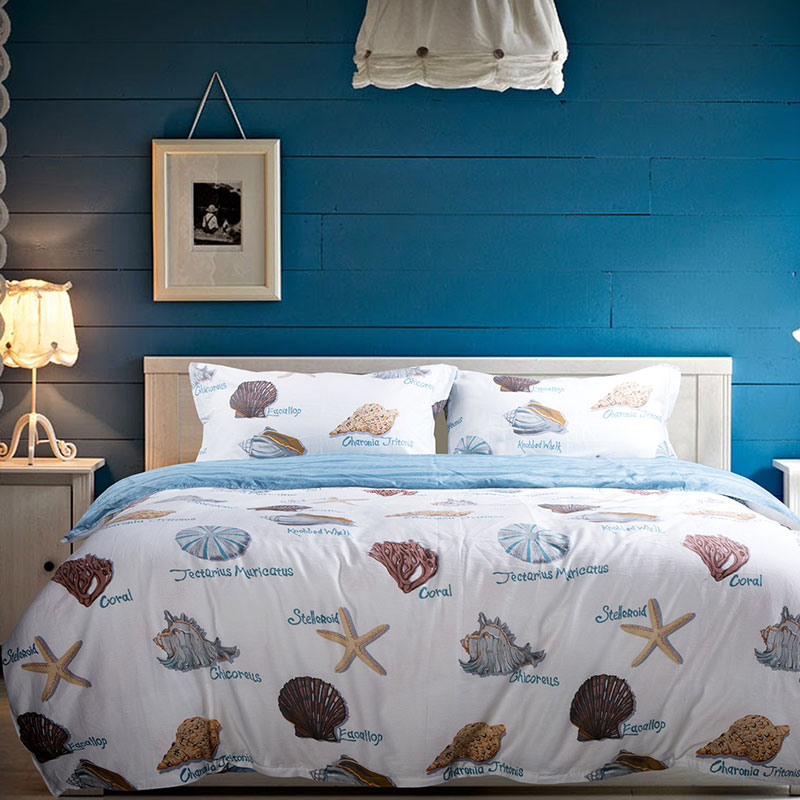 Sophisticated Ocean Themed Bedding Set Ebeddingsets