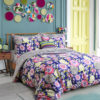 Sophisticated Stripes and Flower Themed Bedding Set 1 100x100 - Sophisticated Stripes and Flower Themed Bedding Set