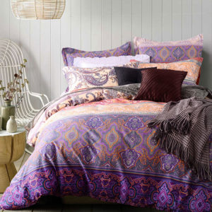 Tasteful Orange And Purple Cotton Bedding set 1 300x300 - Tasteful Orange And Purple Cotton Bedding set