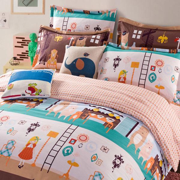 Three Bears And Goldilocks Cotton Bedding Set 1 600x600 - Three Bears And Goldilocks Cotton Bedding Set