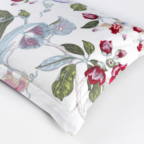 Tranquil Floral Cotton Bedding Set 3 600x600 - Tranquil Floral Cotton Bedding Set