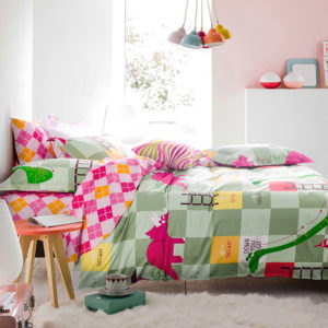 Trendy Snacks and Ladders Themed Cotton Bedding Set 3 300x300 - Trendy Snacks and Ladders Themed Cotton Bedding Set