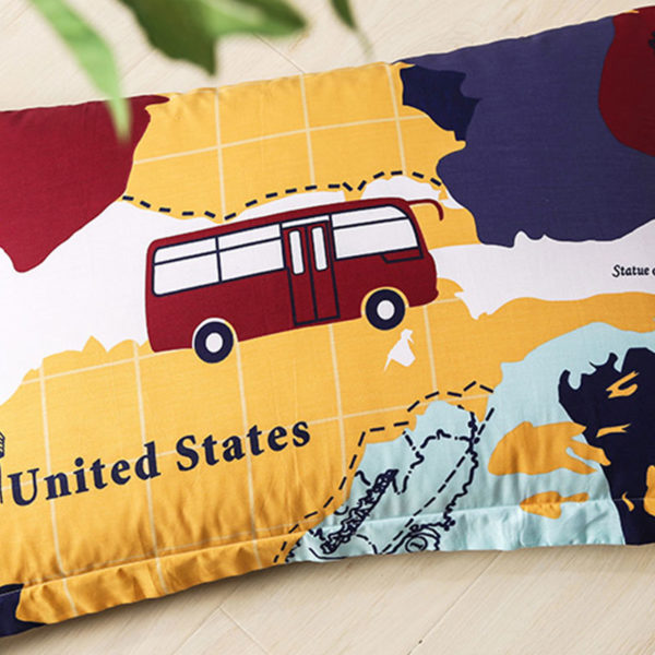 Trendy USA Themed Cotton Bedding Set 3