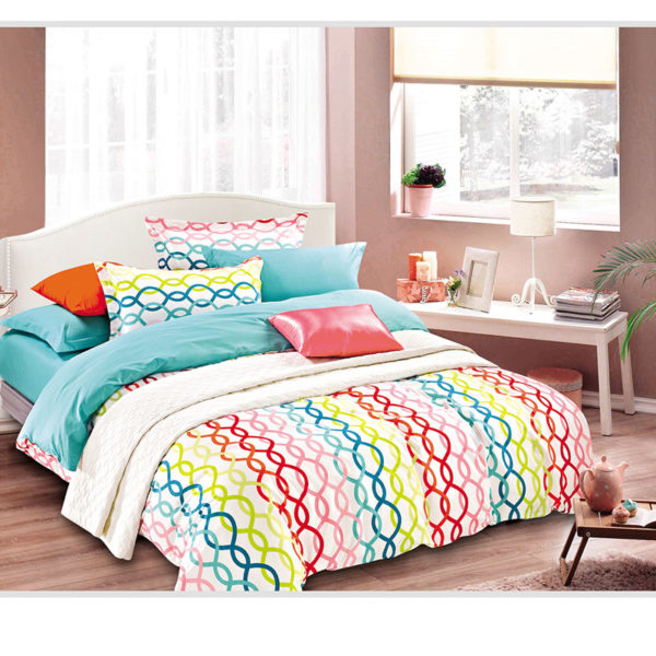 Trendy and Colorful Cotton Bedding Set 1 600x600 - Trendy and Colorful Cotton Bedding Set