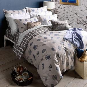 Ultra Modern Monochromatic Cotton  Bedding Set