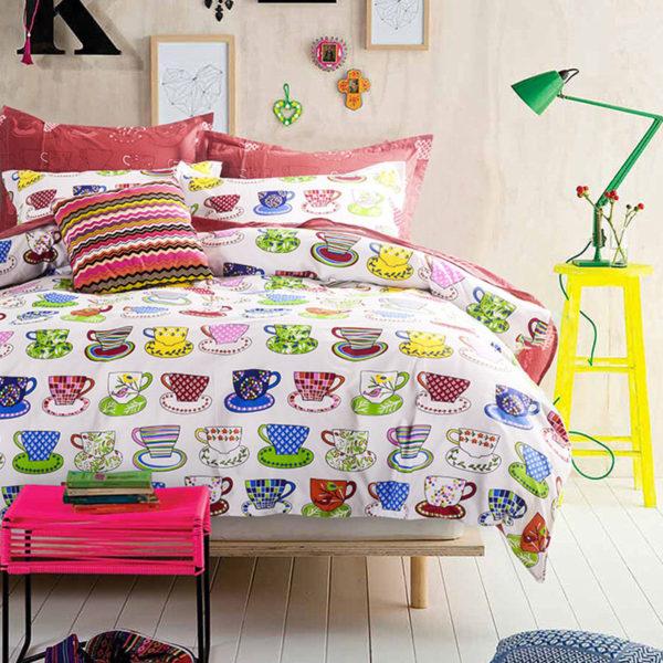 Ultra cool Trendy Tea Cotton Bedding Set 1 600x600 - Ultra cool Trendy Tea Cotton  Bedding Set