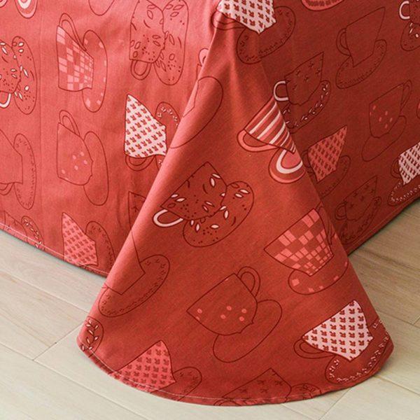Ultra cool Trendy Tea Cotton Bedding Set 3 600x600 - Ultra cool Trendy Tea Cotton  Bedding Set