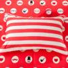 Vibrant Red and Black ILU Cotton Bedding set 4 100x100 - Vibrant Red and Black ILU Cotton Bedding set