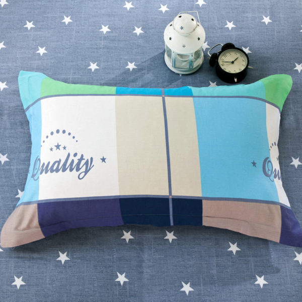 Vibrant and trendy Light Blue Cotton Bedding Set 4 600x600 - Vibrant and trendy Light Blue Cotton Bedding Set