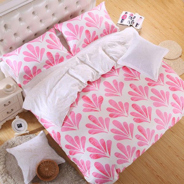 Zesty Flora and Fauna Cotton Bedding Set