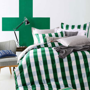 classic Green and White Cotton Bedding Set 3 300x300 - classic Green and White Cotton Bedding Set