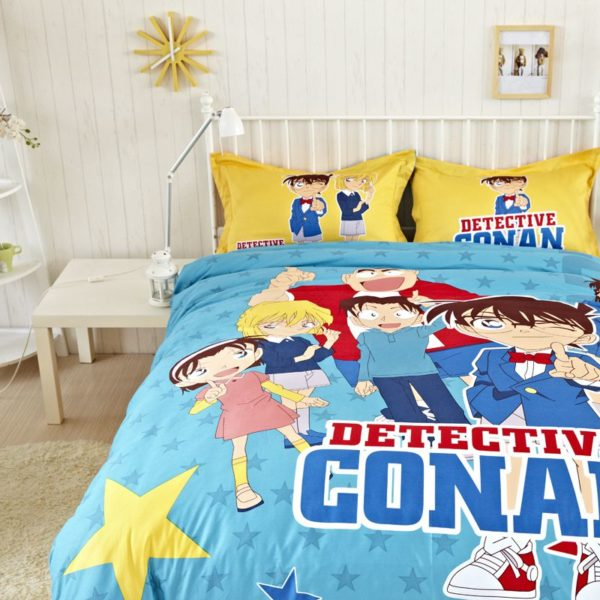 Conan Bedding Set Style3 2 600x600 - Conan Bedding Set Model 3