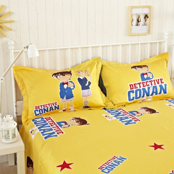 Conan Bedding Set Style3 4 600x600 - Conan Bedding Set Model 3