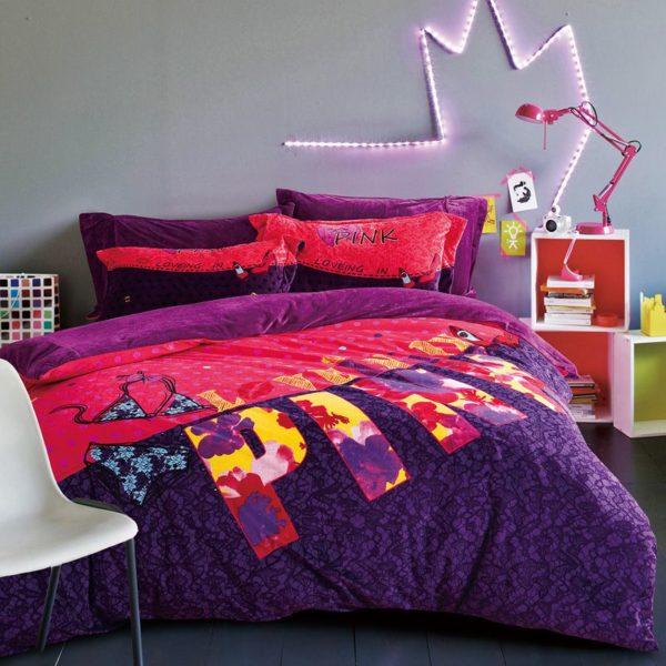 Victoria Secret Pink Velvet Model 1 1 600x600 - Victoria Secret Pink Velvet Model 1 - Queen Size