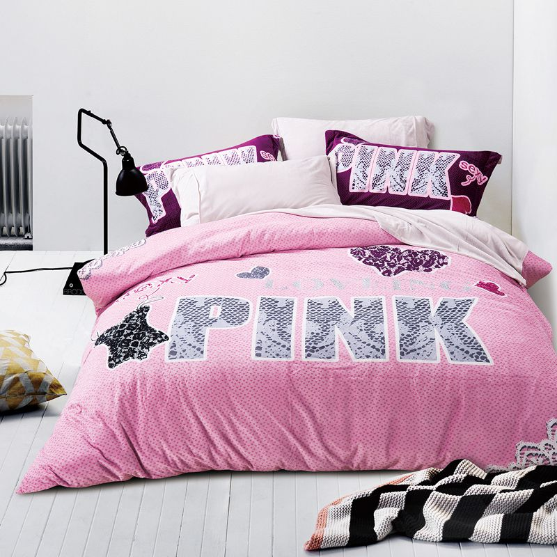 Victoria Secret Pink Velvet Model 2 Queen Size