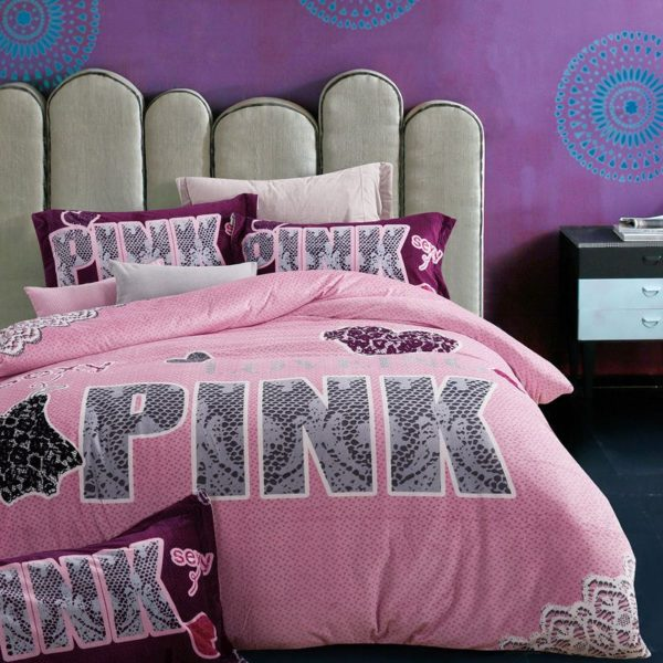 Victoria Secret Pink Velvet Model 2 7 600x600 - Victoria Secret Pink Velvet Model 2 - Queen Size