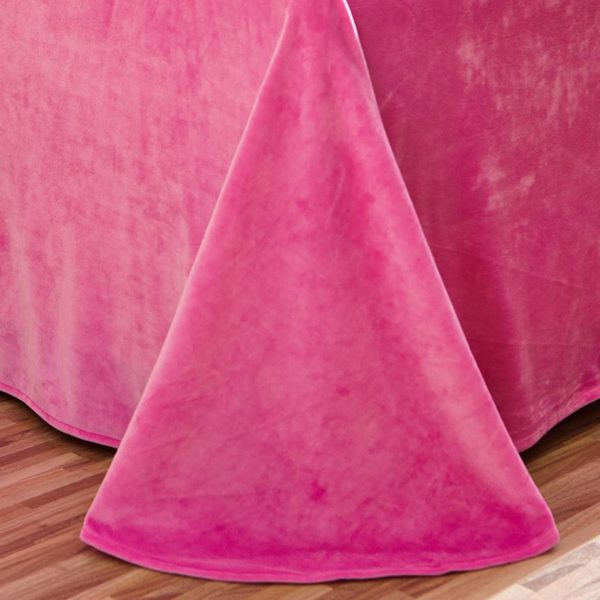 Victoria Secret Pink Velvet Model 4 6 600x600 - Victoria Secret Pink Velvet Model 4 - Queen Size