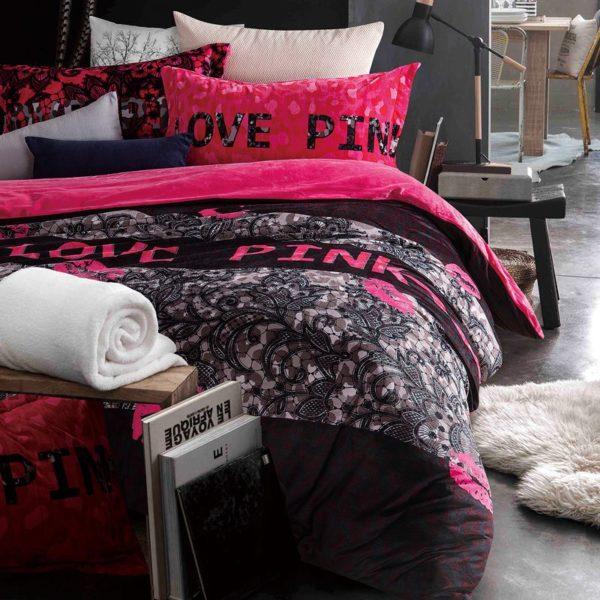 Victoria Secret Pink Velvet Model 7 3 600x600 - Victoria Secret Pink Velvet Model 7 - Queen Size