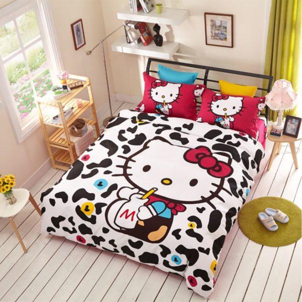 Hello Kitty Bedding Sets Model 10 1XX 600x600 - Hello Kitty Bedding Sets Model 10