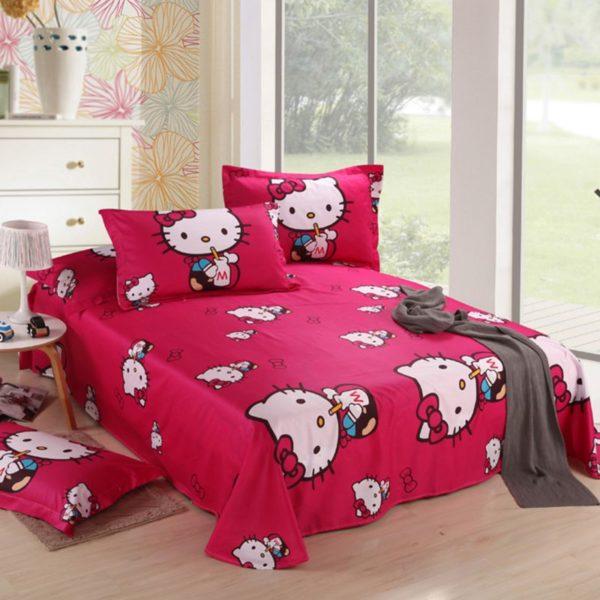 Hello Kitty Bedding Sets Model 10 2XX 600x600 - Hello Kitty Bedding Sets Model 10