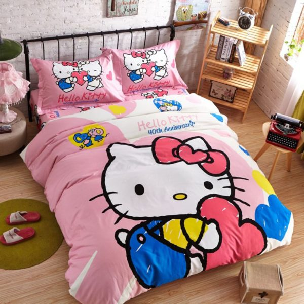 Hello Kitty Bedding Sets Model 11 1XX 600x600 - Hello Kitty Bedding Sets Model 11