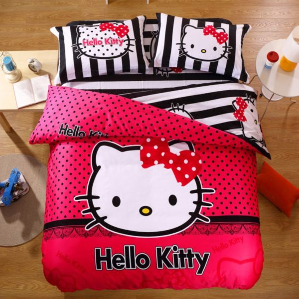 Hello Kitty Bedding Sets Model 14 1XX 600x600 - Hello Kitty Bedding Sets Model 14