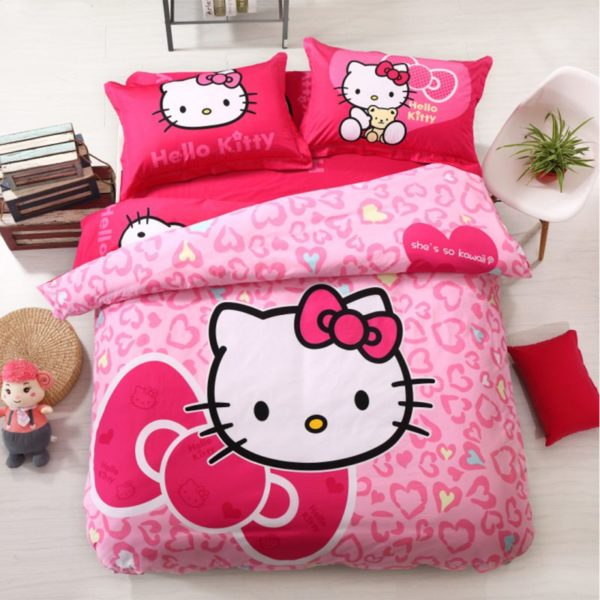 Hello Kitty Bedding Sets Model 16 1XX 600x600 - Hello Kitty Bedding Sets Model 16