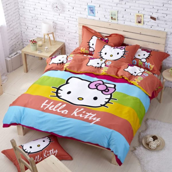 Hello Kitty Bedding Sets Model 6 1XX 600x600 - Hello Kitty Bedding Sets Model 6