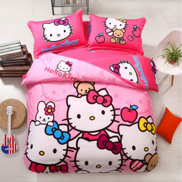 Hello Kitty Bedding Sets Model 9 1XX 600x600 - Hello Kitty Bedding Sets Model 9