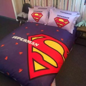 superman bedding set queen size 2 300x300 - superman bedding set