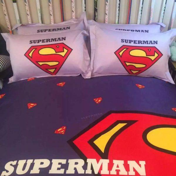 superman bedding set queen size 3 600x600 - superman bedding set