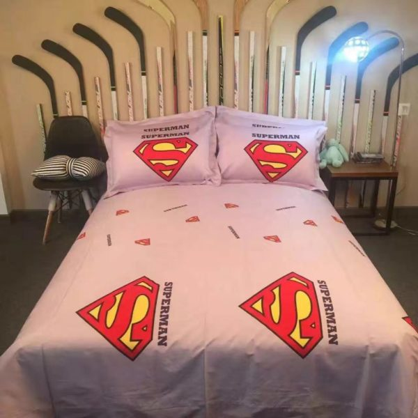 superman bedding set queen size 4 600x600 - superman bedding set