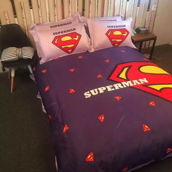 superman bedding set queen size 5 600x600 - superman bedding set