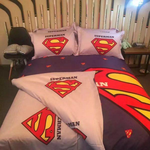 superman bedding set queen size 600x600 - superman bedding set