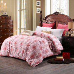 0K4C2952 compressed 300x300 - Geometric Themed Magenta Sanding Wedding Comforter