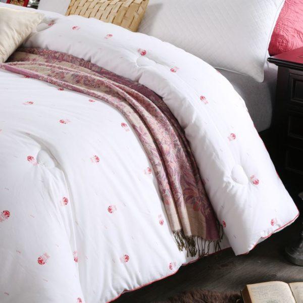 0K4C2989 compressed 600x600 - Glamorous White Luxury Sanding Wedding Comforter