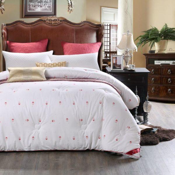 0K4C3001 compressed 600x600 - Glamorous White Luxury Sanding Wedding Comforter