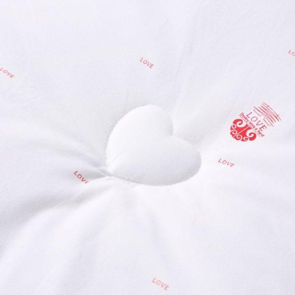 0K4C3011 compressed 600x600 - Glamorous White Luxury Sanding Wedding Comforter