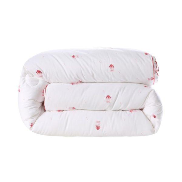 0K4C3018 compressed 600x600 - Glamorous White Luxury Sanding Wedding Comforter