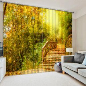 Colors Of Autumn Curtain Set