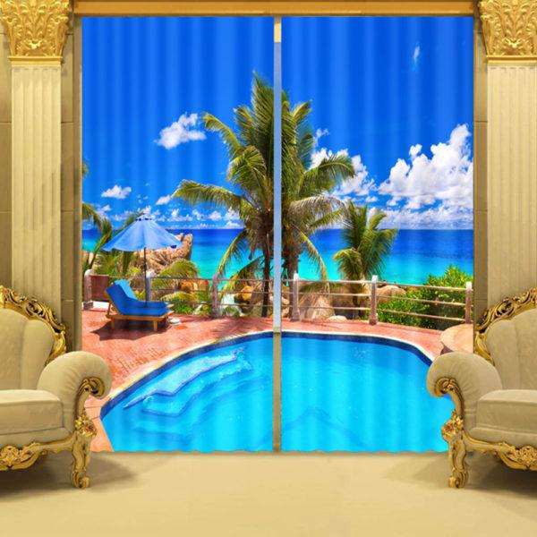 106 zpslqggxh8j 600x600 - Elegant Curtain Set In Light Blue