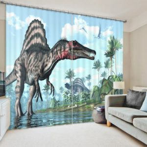 Magnificent Dinosaur Curtain Set