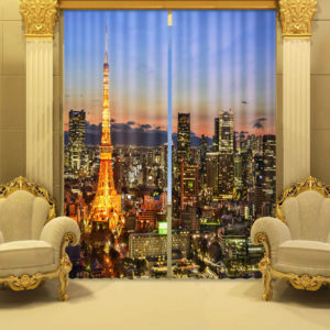 113 zpsikh6xkex 300x300 - Fabulous City And skyscrapers Curtain Set