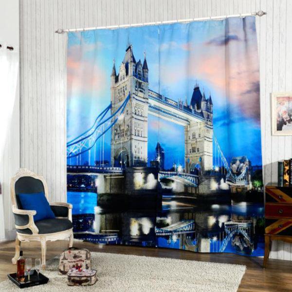 114 zpsib9ifkwb 600x600 - Trendy Curtain Set With Bridge Theme